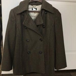J Crew Wool Pea Coat